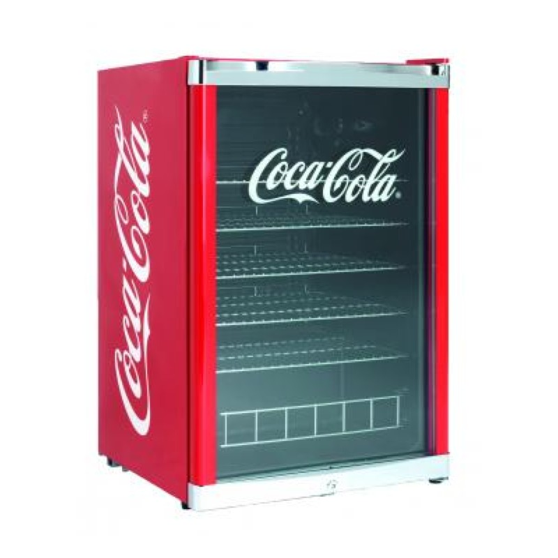 frigo vitrine coca cola boissons 115l d couverte. Black Bedroom Furniture Sets. Home Design Ideas