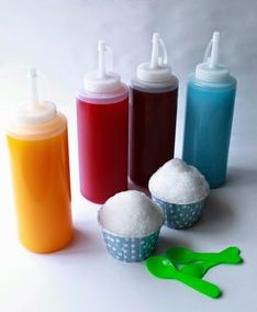 homemade snow cone Iceprod